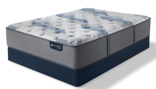 iComfort Hybrid - Blue Fusion 200 Plush Mattress - Floor Model Closeout - Twin XL