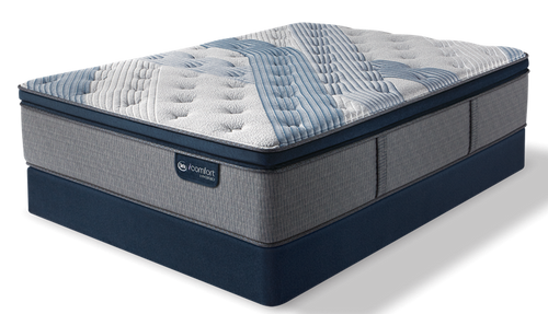 iComfort Hybrid - Blue Fusion 1000 Luxury Firm Pillow Top Mattress - Floor Model Closeout - Queen