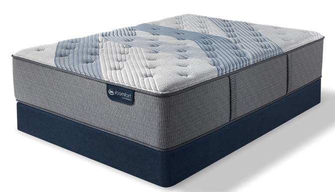 iComfort Hybrid - Blue Fusion 1000 Luxury Firm Mattress - Floor Model Closeout