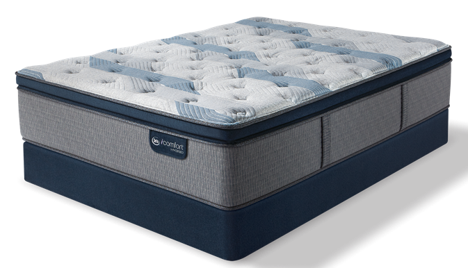 iComfort Hybrid - Blue Fusion 300 Plush Pillow Top Mattress