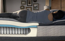 Load image into Gallery viewer, Perfect Sleeper Hybrid - Goldenburg II Ultra Plush Pillow Top Mattress
