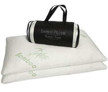 Load image into Gallery viewer, Bamboo Memory Foam Pillow - Queen Size