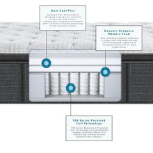 Load image into Gallery viewer, Beautyrest Silver - BRS900-C Medium Pillow Top Mattress