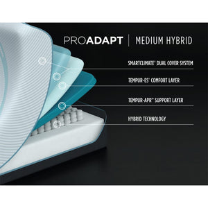 Tempur-Pedic - ProAdapt Medium Hybrid Mattress