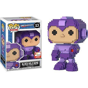 Funko Pop! 8-Bit: Megaman Black Hole Bomb #13 - E3 2018 Limited Edition Exclusive - Hyped Goods, New Jersey