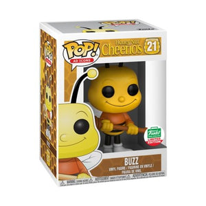 Funko Pop! Ad Icons: Honey Nut Cheerios Buzz Bee #21 - Funko Shop Christmas Exclusive - Hyped Goods, New Jersey