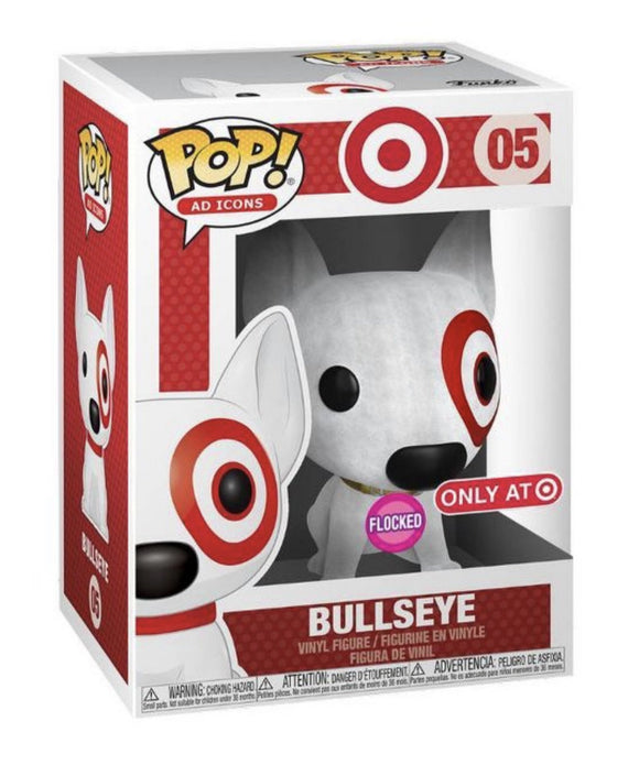 Funko Pop! Ad Icons: Target - Bullseye Flocked Target Exclusive Pre Order 2019 - Hyped Goods, New Jersey