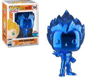 Funko Pop! Animation: DBZ SS Vegeta Blue Chrome Toy Tokyo Exclusive - Hyped Goods, New Jersey