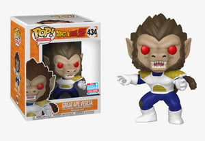 "Funko Pop! Animation: Dragon Ball Z: Great Ape Vegeta 6"" - NYCC 2018 Shared Exclusive - Hyped Goods, New Jersey"