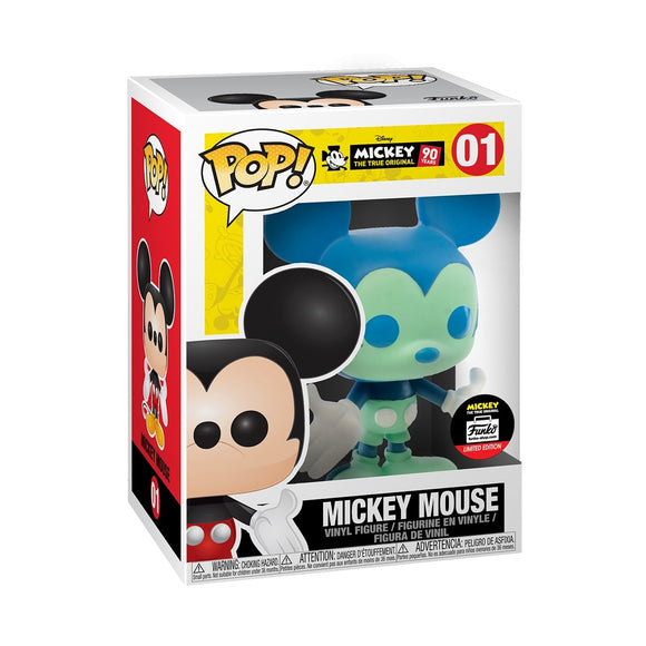 Funko Pop! Blue & Green Mickey Mouse 4