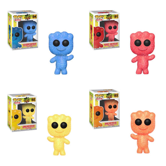 Funko Pop! Candy: Sour Patch Kids 4pk Bundle - Pre Order - Hyped Goods, New Jersey