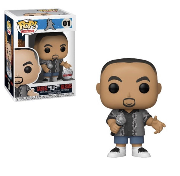 "Funko Pop! Comedians: Gabriel ""Fluffy"" Iglesias #01 Fluffy Shop Exclusive - Hyped Goods, New Jersey"