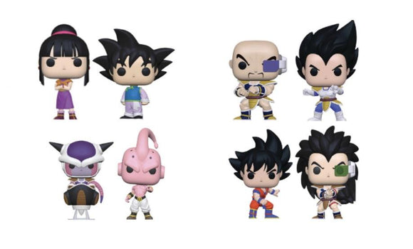 Funko Pop! DBZ S6: London Toy Fair Wave 4 Bundle - Hyped Goods, New Jersey