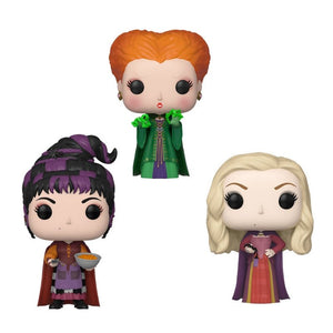 Funko Pop! Disney - Hocus Pocus Bundle - Pre Order 2019 - Hyped Goods, New Jersey