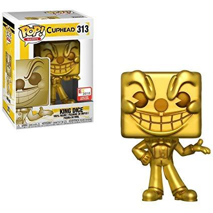 Funko Pop! Games: Cuphead King Dice #313 - E3 2018 Limited Edition Exclusive - Hyped Goods, New Jersey