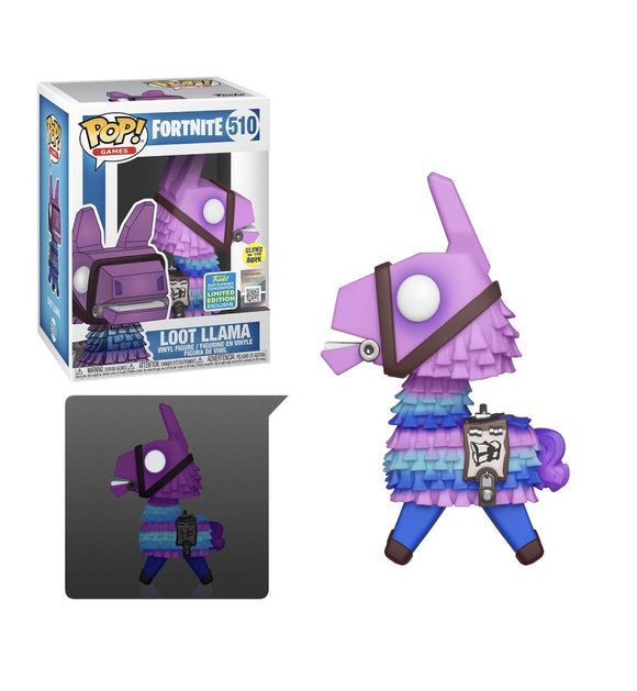 Funko Pop! Games: Fortnite - Loot Llama GITD [2019 SDCC SHARED] - Hyped Goods, New Jersey