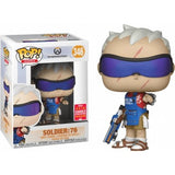 Funko Pop! Games: Soldier 76 Grill Master Overwatch - 2018 SDCC Shared - Hyped Goods, New Jersey