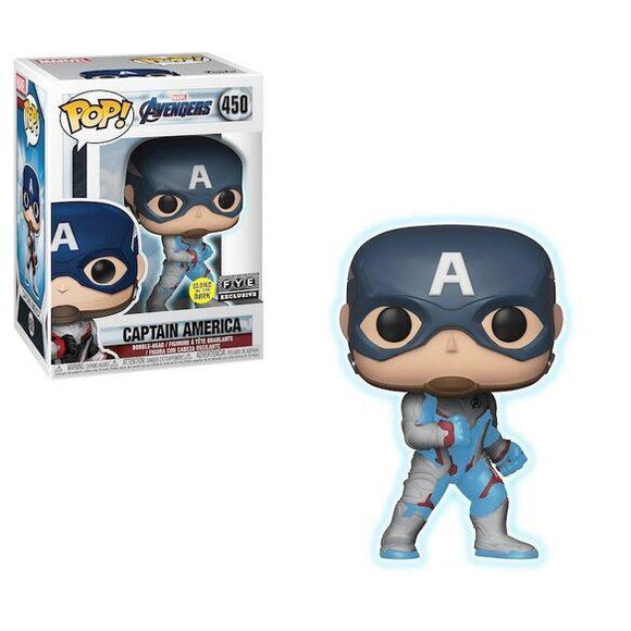 Funko Pop! Marvel Avengers Endgame - Captain America (Glow In The Dark) Fye Exclusive - Hyped Goods, New Jersey