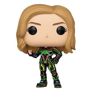 Funko Pop! Marvel: Captain Marvel (Neon Suit) - Pre Order 2019 - Hyped Goods, New Jersey