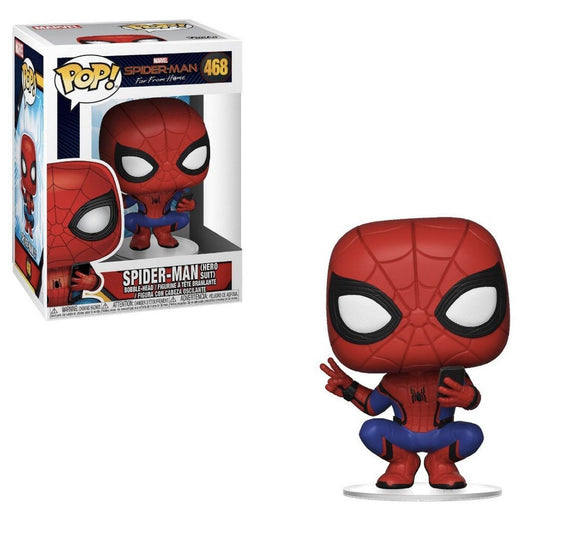 Funko Pop! Marvel Spiderman: Far From Home - Hero Suit #468 - Hyped Goods, New Jersey