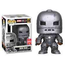 Funko Pop! Marvel Studios Iron Man [Mark 1] #338 - 2018 Summer Convention Shared Exclusive - Hyped Goods, New Jersey