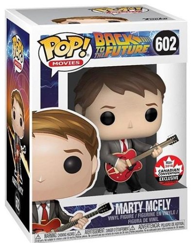 Funko Pop! Movies: Back to The Future Marty McFly #602 - 2018 Canadian Convention Exclusive - Hyped Goods, New Jersey