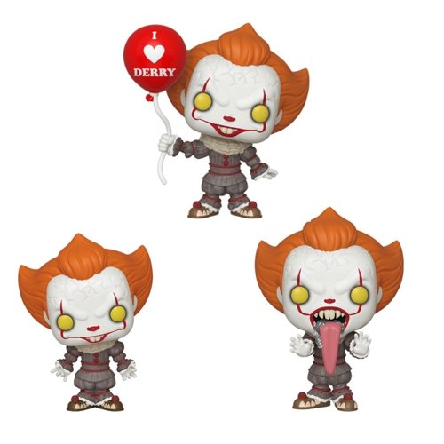 Funko Pop! Movies: IT Chapter 2 - Pennywise Set of 3 - Pre Order 2019 - Hyped Goods, New Jersey