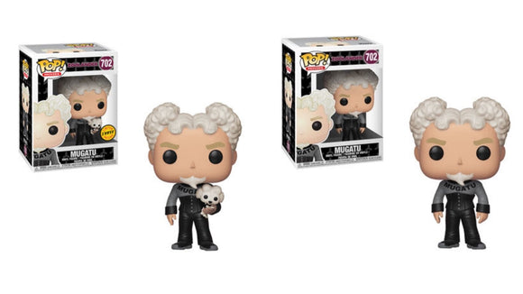 Funko Pop! Movies: Zoolander - Mugatu w/ Dog Chase - Hyped Goods, New Jersey