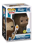 Funko Pop! Myths: Bigfoot With Glow Marshmallow Stick - Funko Shop Exclusive - Hyped Goods, New Jersey