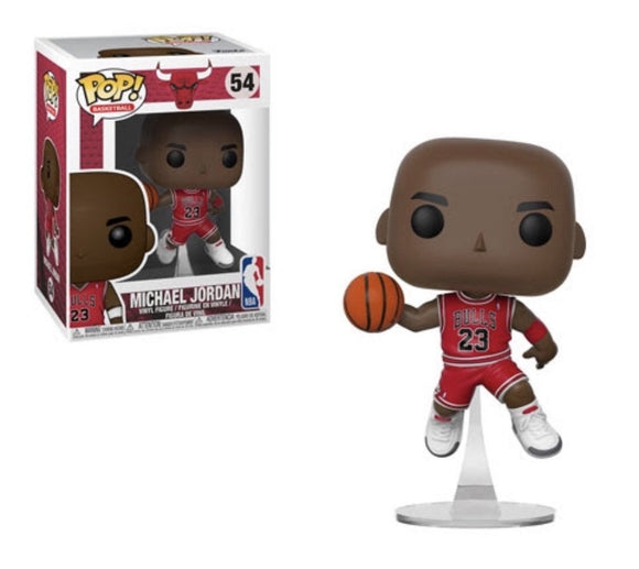 Funko Pop! NBA - Chicago Bulls Michael Jordan (Red Jersey) - Hyped Goods, New Jersey