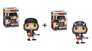 Funko Pop! Rocks: AC/DC Angus Young w/ Chase *Pre Order* - Hyped Goods, New Jersey