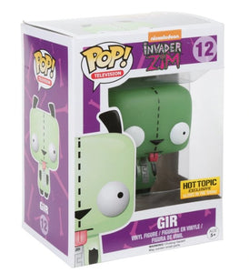 Funko Pop! Television: Invader Zim Gir Glow In The Dark #12 - Hot Topic Exclusive - Hyped Goods, New Jersey