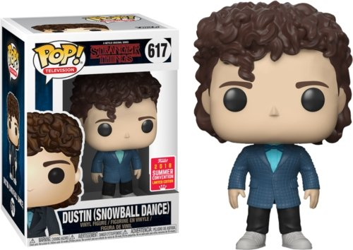 Funko Pop! Television: Stranger Things - Dustin Snowball Dance #617 - Hyped Goods, New Jersey