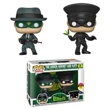 Funko Pop! Television: The Green Hornet & Kato - Toy Tokyo 2018SDCC Exclusive - Hyped Goods, New Jersey