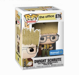 Funko Pop! Television: The Office - Dwight Shrute as Hay King #876 Walmart Exclusive - Hyped Goods, New Jersey