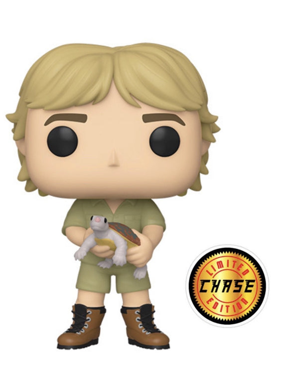 Funko Pop! TV: Crocodile Hunter - Steve Irwin w/ Turtle CHASE (Pre Order 2019) - Hyped Goods, New Jersey