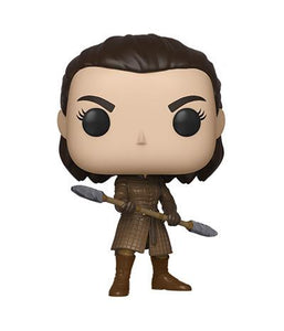 Funko Pop! TV: Game of Thrones - Arya Stark with Two Headed Spear - Pre Order 2019 - Hyped Goods, New Jersey