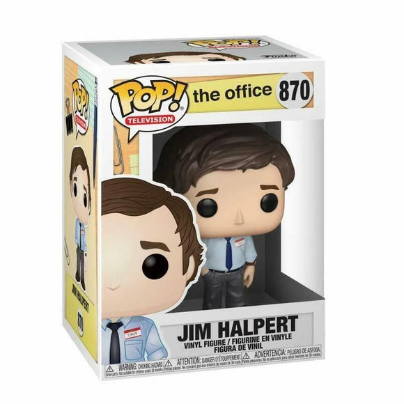 Funko Pop! TV: The Office - Jim Halpert #870 - Hyped Goods, New Jersey