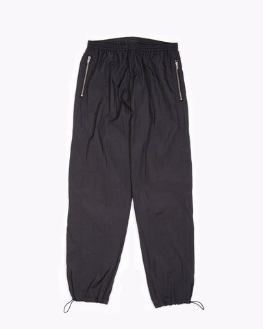 Maiden Noir Warm Up Trouser - Black Nylon