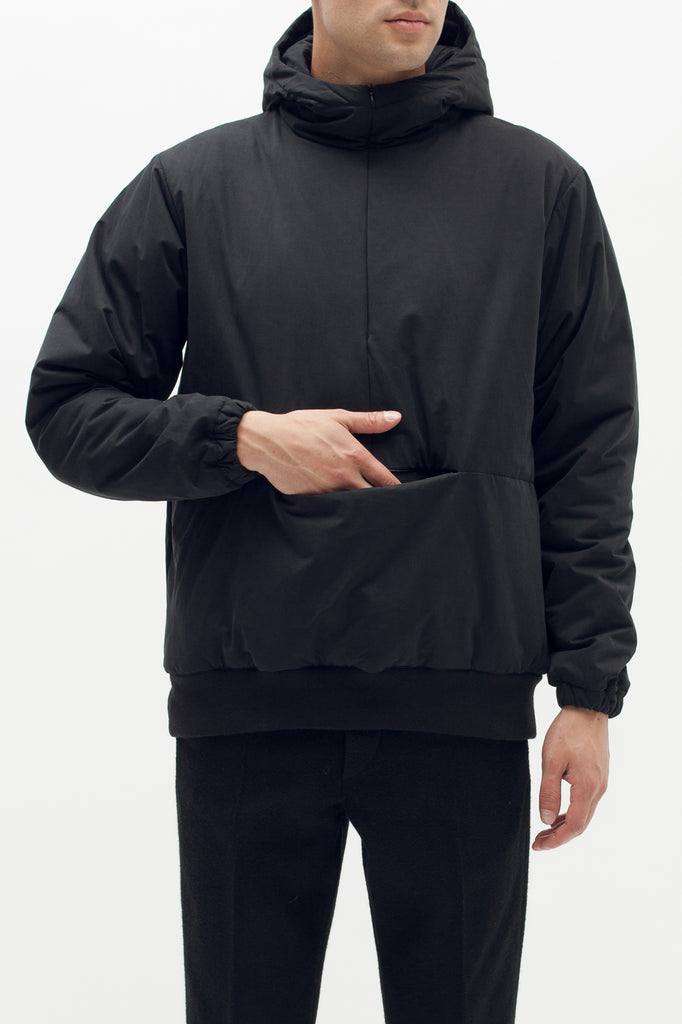 Insulated Hoodie - Black