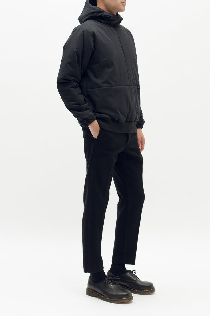 Insulated Hoodie - Black - [product _vendor]