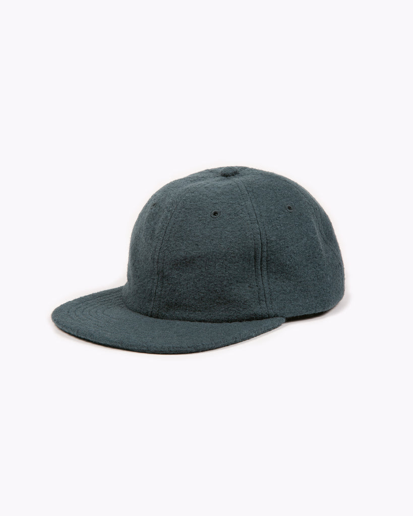Boiled Wool Cap - Slate