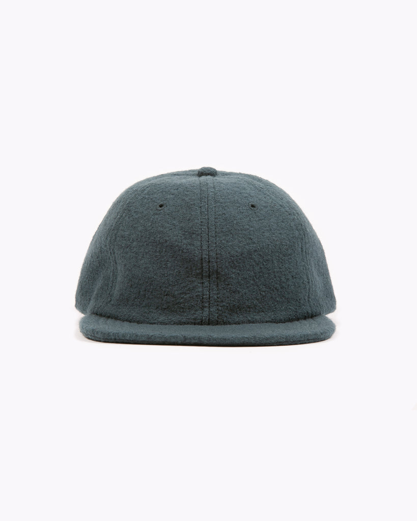 Boiled Wool Cap - Slate W
