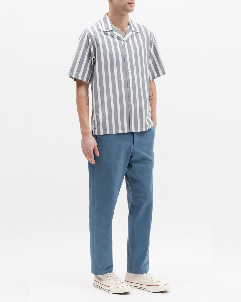 Stripe SS Shirt - Grey - [product _vendor]