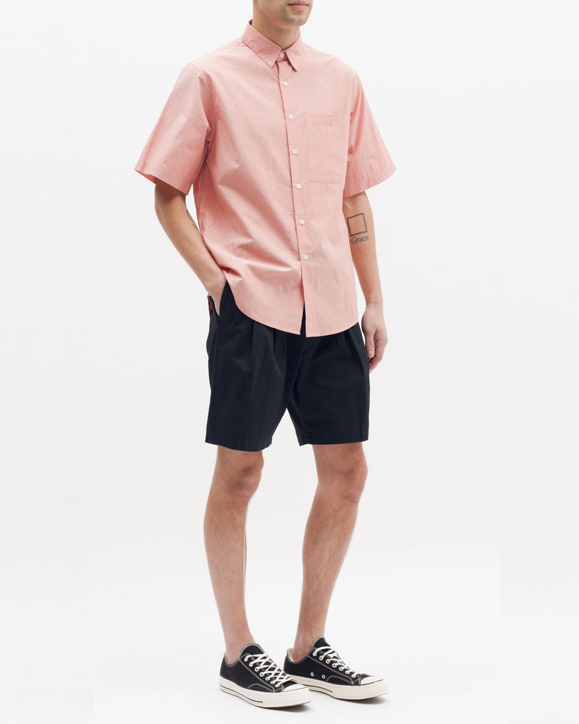 Boxy SS Shirt - Coral - Maiden Noir