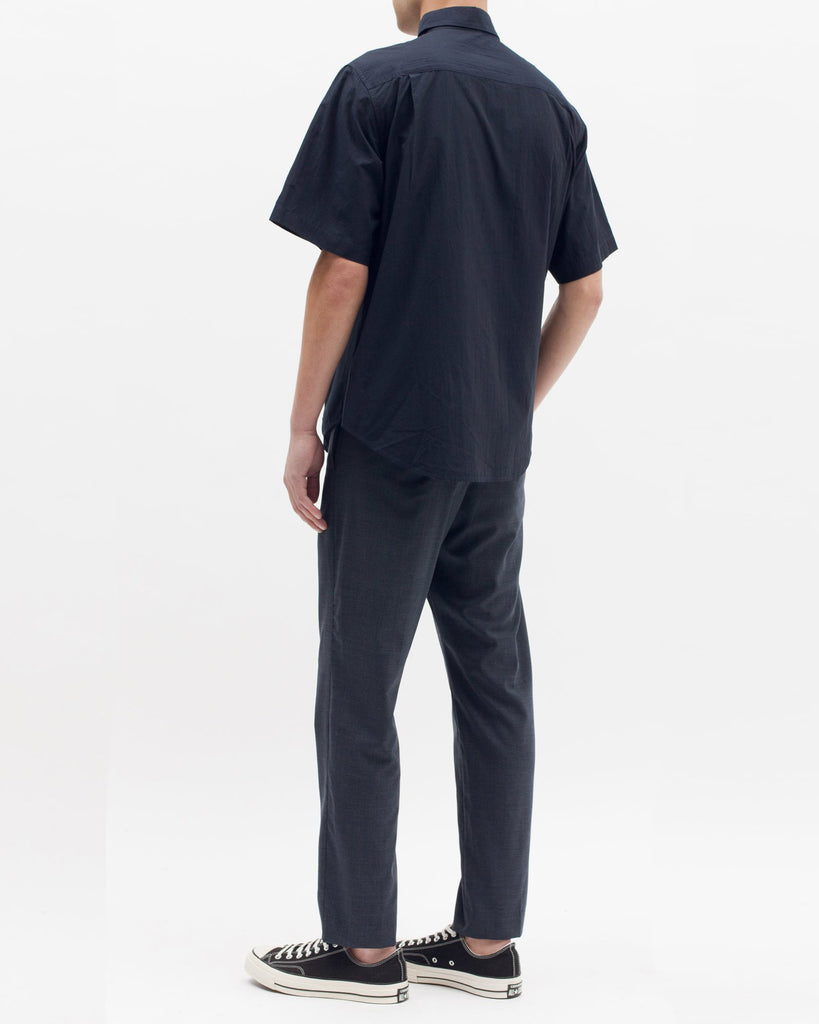 Boxy SS Shirt - Navy - [product _vendor]
