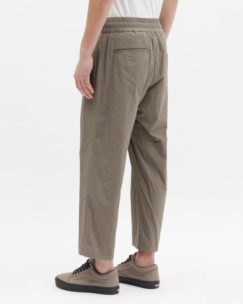 Cropped Trouser - Olive - [product _vendor]