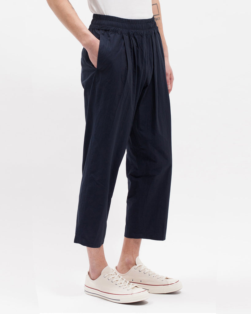 Cropped Trouser - Navy - [product _vendor]