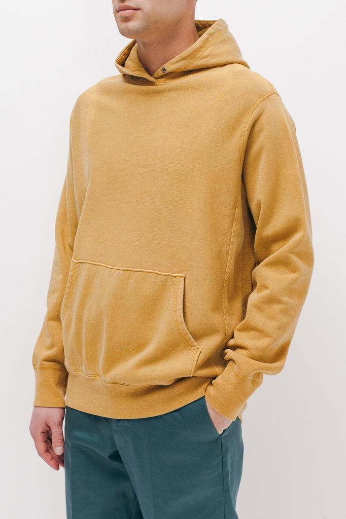 Natural Dyed Hoodie Fleece - Mustard - [product _vendor]