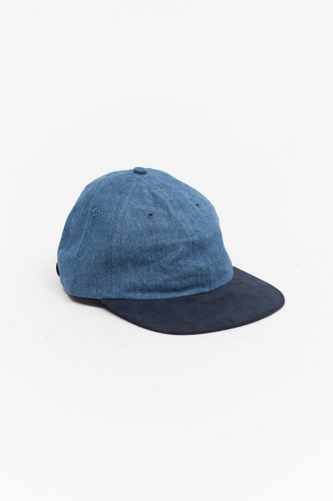 Denim Ball Cap - Navy